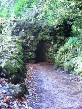 Stourhead - Grotto of Camera Doom