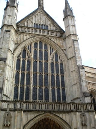 Winchester Cathedral - Front