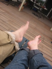 Our_first_feet