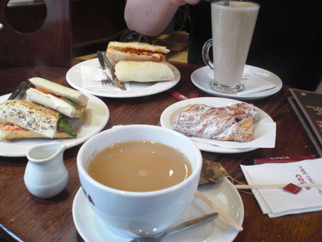 Lunch at Costa