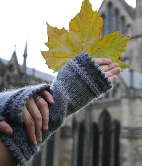 Mitts with Cathedral Close Up