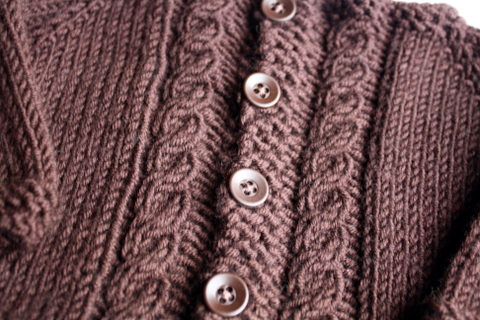 Bitty Cable Cardigan - Cable