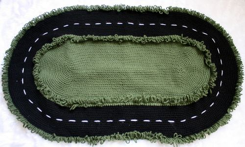 Full Racetrack Rug