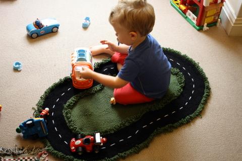 Emmett's Racetrack Rug